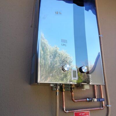 Gas Genie Delta Engineering 12Lt Stainless Steel