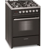 Meireles 60cm Black Gas / Electric Oven