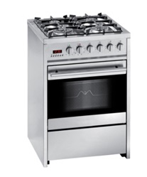Meireles 60cm Stainless Steel Gas / Electric Oven