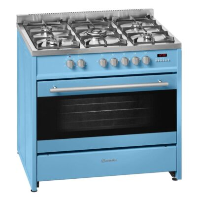Meireles 90cm Powder Blue Gas with Electric Oven