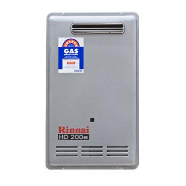 Gas Genie Rinnai 26lt HD200e Commercial (External)